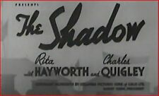 THE SHADOW 1937 Mystery Thriller w/Rita Hayworth, Charles Quigley, Dwight Frye