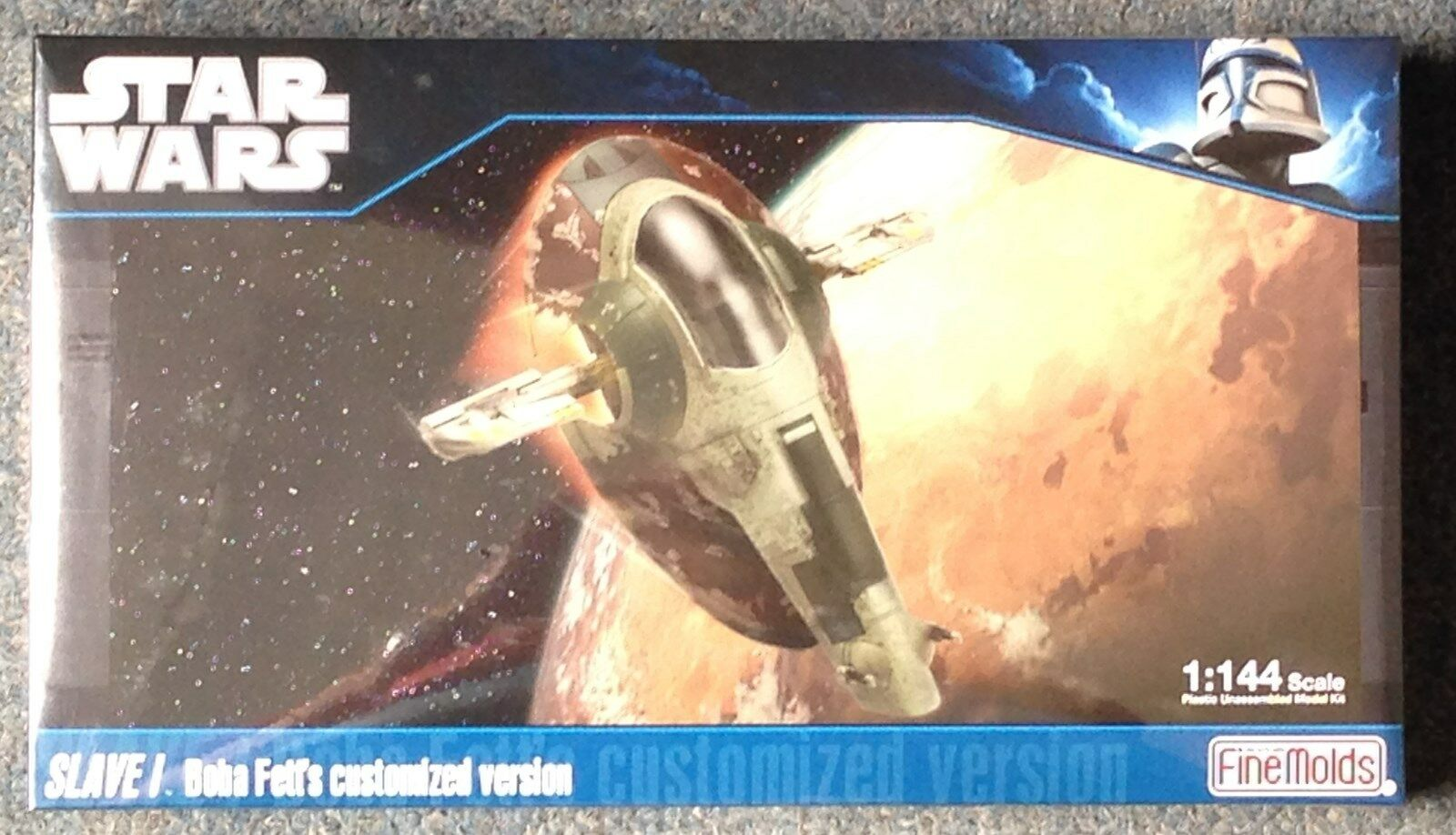 1 144 Star Wars Slave I Boba Fett Version Fine Molds  SW-14 Shrink Wrapped MISB