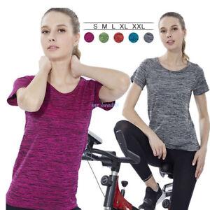 Women-Fitness-Workout-Yoga-Running-Quick-dry-T-Shirt-Gym-Short-Sleeve-Tops