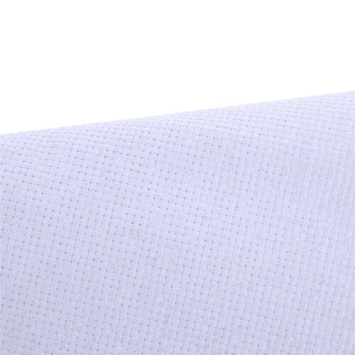 White Cotton 11CT Aida Cloth Cross Stitch Fabric Use for Embroidery Accessory