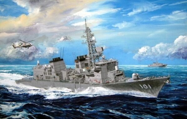 Japanese Jmsdf Murasame Destroyer 1 350 Plastic Model Kit TRUMPETER