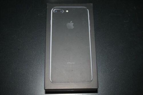 Leere Original Verpackung OVP Jet Black 256GB Original Apple iPhone 7 Plus