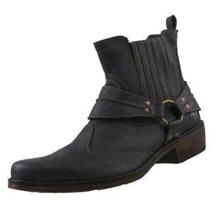 Nuevo Botas De Zapatos Mustang Hombre Western Cowboy Detalles Stiefel PXwOkn08