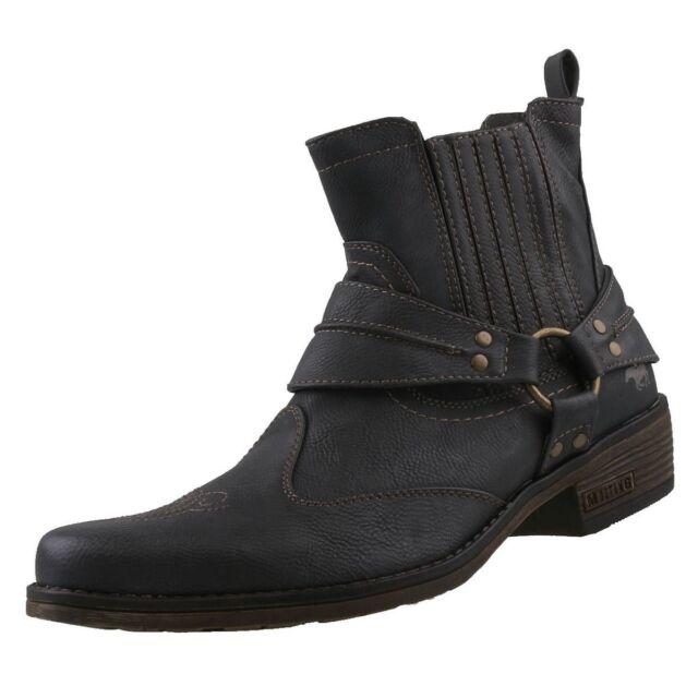 Nuovo Mustang Scarpe Uomo Western-Stiefel Stivali da Cowboy Stivali Uomo c0d8f8845a9