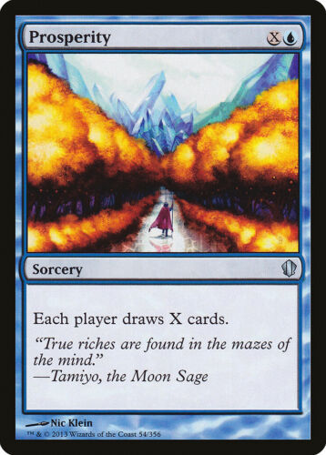Prosperity Commander 2013 NM Blue Uncommon MAGIC THE GATHERING CARD ABUGames