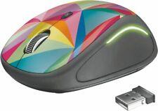 Artikelbild Trust Yvi FX Wireless Mouse geometrics Mehrfarbig