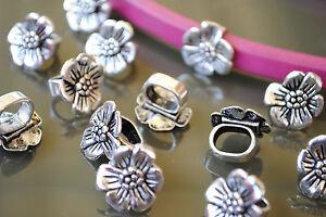 flores abalorios flor pulseras collares pulsera 12 Entrepiezas Zamak FLOR-08