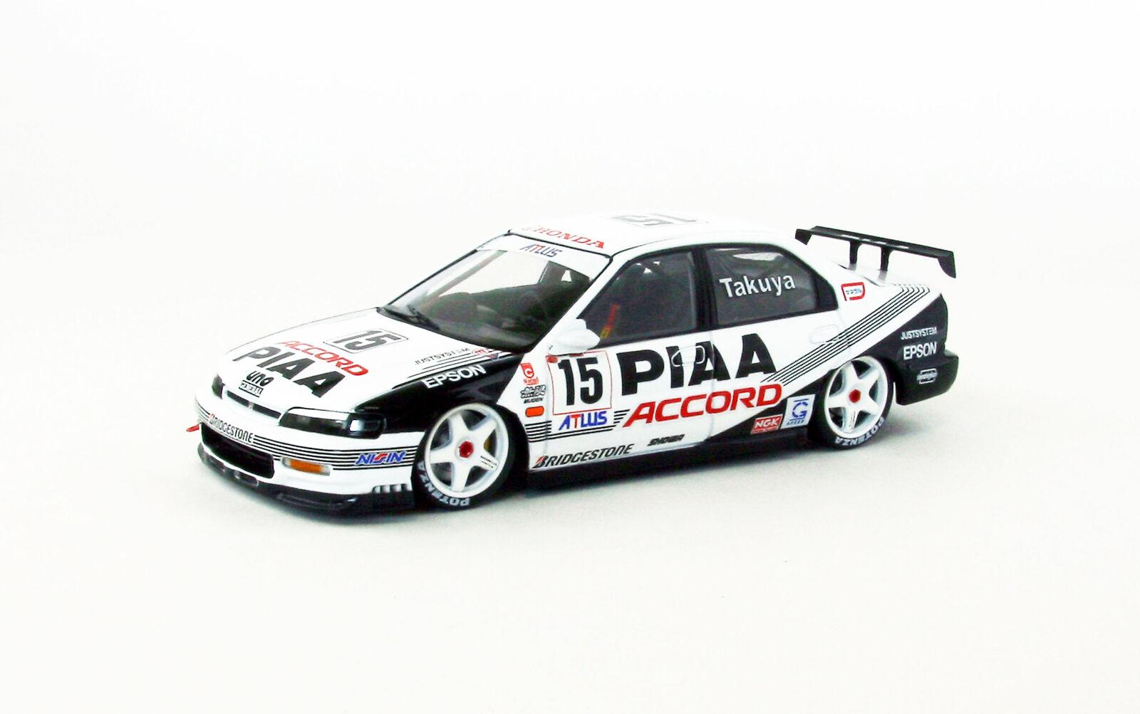 Ebbro 45040 Honda PIAA Mugen Accord #.15 Japan JTCC 1996 1//43 scale