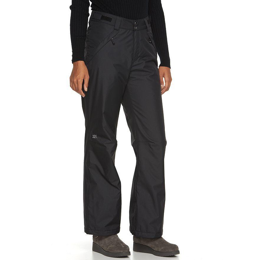 Para Para Para Dama Nieve Pantalones Zeroxposur Negro Talla XL Nuevo con Etiquetas c7ef19