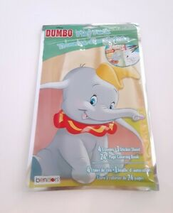 Disney Dumbo Play Pack 24 Page Coloring Book Crayons Stickers Brand New 639277582935 Ebay