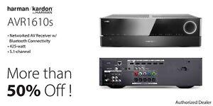 Harman/Kardon AVR1610S 5.1 Channel AVR Receiver with Bluetooth USB & 5 HDMI