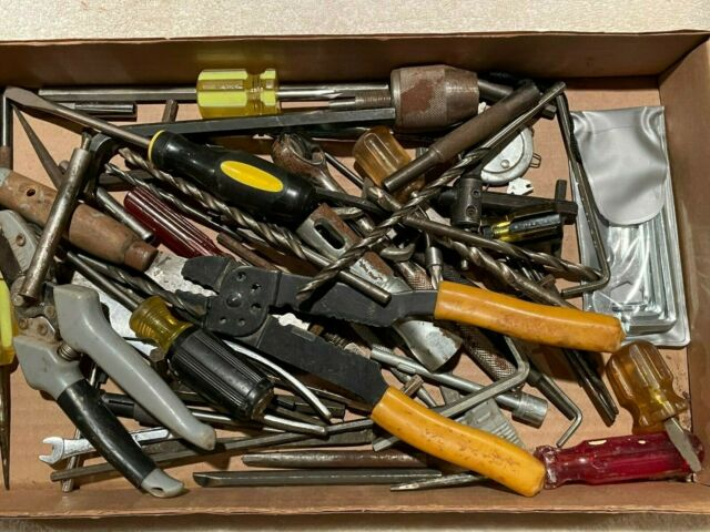 Large lot of 70+ Used Miscellaneous Daily Used Hand Tools. Various manufacturers