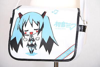 B-064 Vocaloid Miku Hatsune 25x36x8cm Umhänge-Tasche Messenger Bag Manga Anime