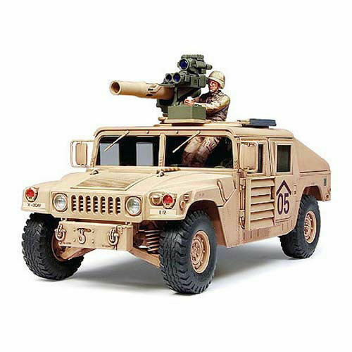 TAMIYA 35267 Humvee M1046 with TOW Missile 1 35 Military Model Kit