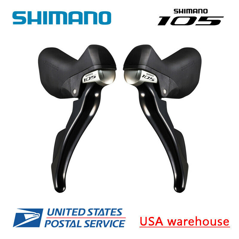 Shimano 105 STI ST-5800 2x11 speed Shift Brake Levers Dual  Control L&R w Cable  best offer