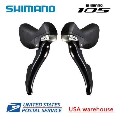 Shimano 105 STI ST-5800 2x11 Vitesse Shift poignées de frein Double commande l/&r avec câble