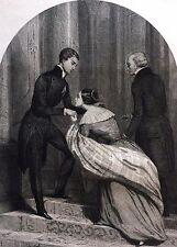 Napoléon II Duc de Reichstadt Comtesse Camerata gravure 1853 Empire Bonaparte