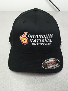 BUICK TURBO GRANDNATIONAL INTERCOOLED GM LICENSED BALL CAP FLEXFIT ... e6e6e1c76b65
