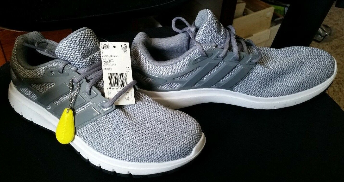 BRAND NEW w/ TAGS Men's Adidas Energy Cloud Cloudfoam Sneakers Shoes BB2699 Gray Comfortable and good-looking