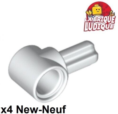 4x Axe Axle connector Hub 1 blanc//white 22961 NEUF Lego technic