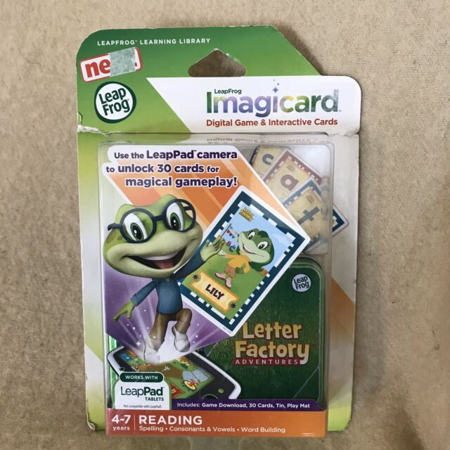 Letter Factory Adventures IMAGICARD Digital Game /& Interactive Cards