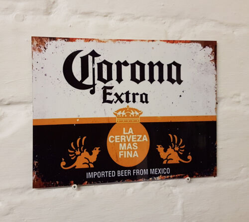 Corona larger Retro METAL SIGN 2 Sizes Available ideal for pub bar Man Cave