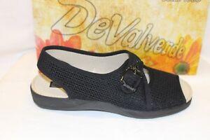 LADIES SHOES//FOOTWEAR Devalverde sandal 185 navy