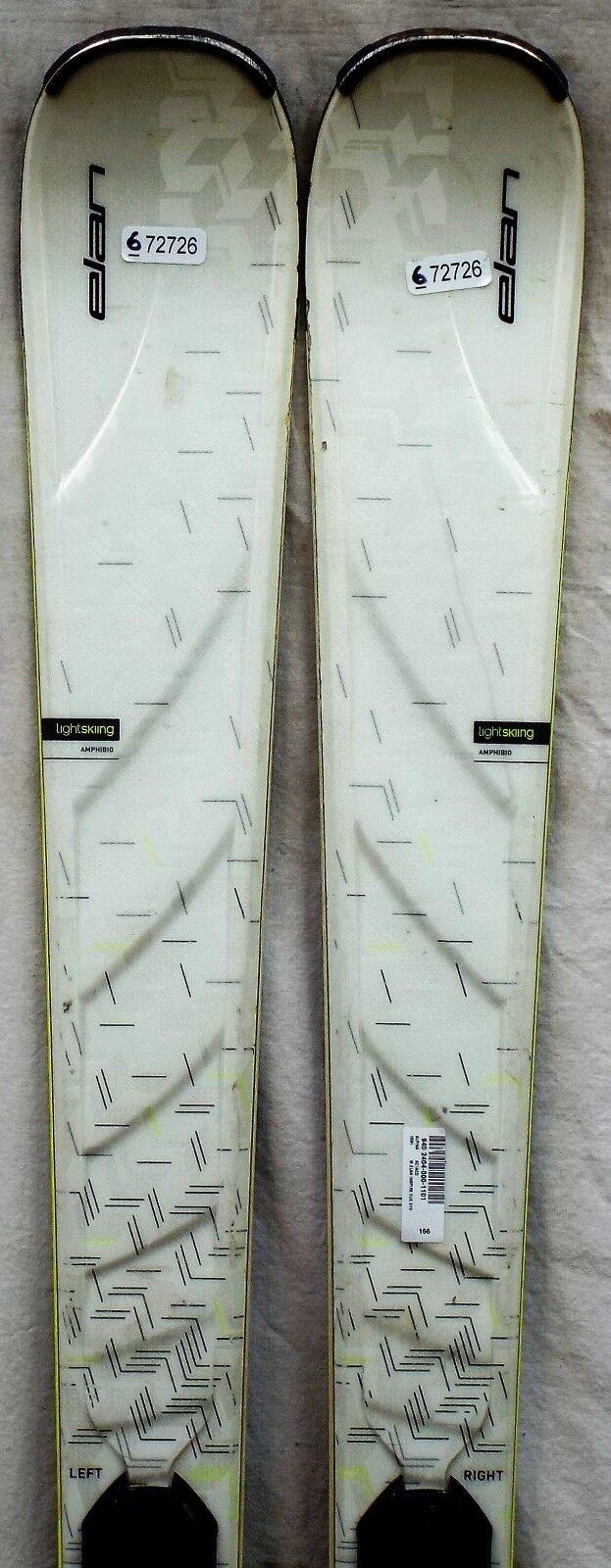 15-16 Elan Inspire Used Women's  Demo Skis w Bindings Size 166cm  hot sale online