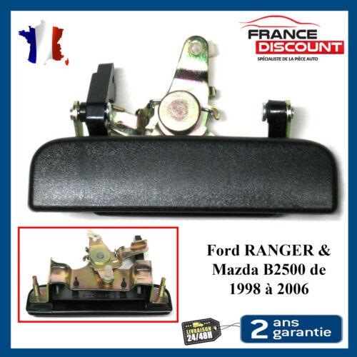 Poignée de Coffre Arriere pour Ford RANGER /& Mazda B2500 de 1998 à 2006 NOIR