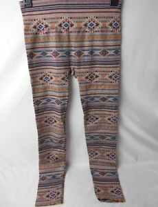 First-Looks-Women-039-s-Navajo-Stripe-Seamless-Leggings-Size-M-L