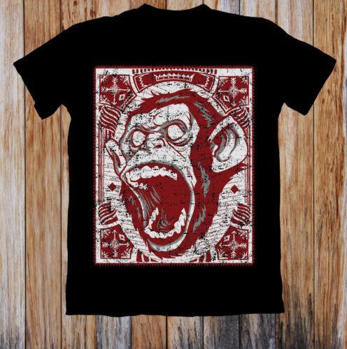 Screaming Monkey Funny Unisex T Shirt
