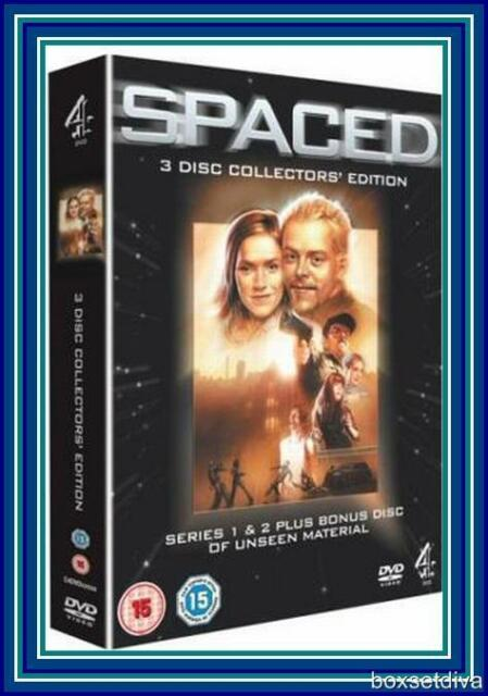 SPACED - DEFINITIVE COLLECTORS EDITION BRAND NEW 3 DISC BOXSET
