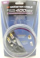 Monster Cable 400dcx 4 Meter Digital Coaxial Model Mc 400dcx-4m