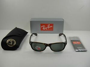 90ea5ea2332 Image is loading RAY-BAN-NEW-WAYFARER-POLARIZED-SUNGLASSES-RB2132-902-