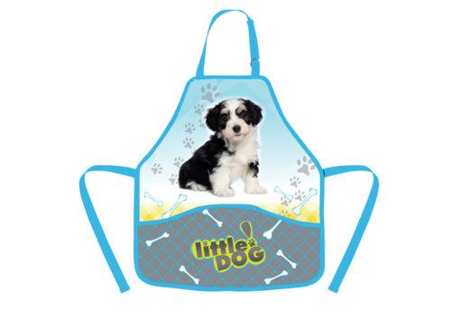 PP133 Hund Hunde Schürze Malschürze Bastelschürze Werkschürze Kinderschürze 2015