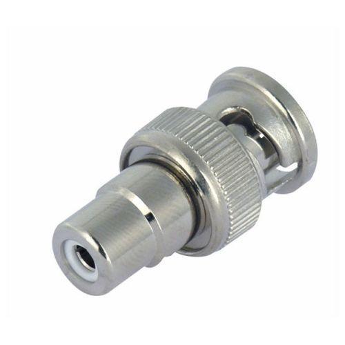 BNC-Stecker 75 Ohm Adapter Cinch-Buchse