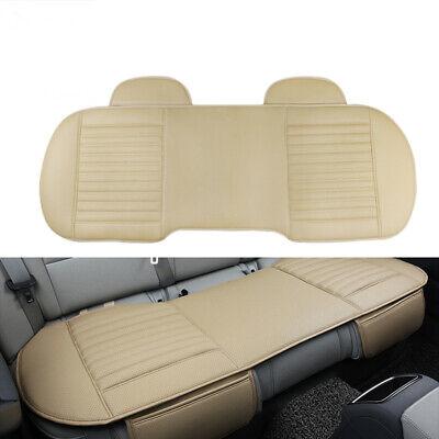 Beige Auto PU Leder Full Surround Sitzauflage Sitzbezüge Sitzkissen Sitzmatte