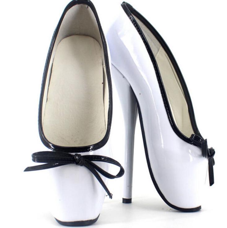 18cm Lady Tacco Tacco Tacco Tacchi a Spillo da Donna Pompe Ballet Bowknot colore misto Slip On   fc8ba4