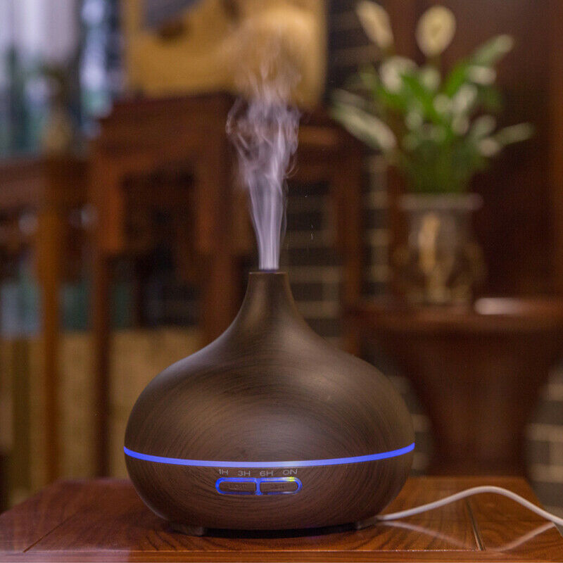 Ultrasonic Essential Oil Aroma Diffuser Mist Humidifier Purifier Aromatherapy