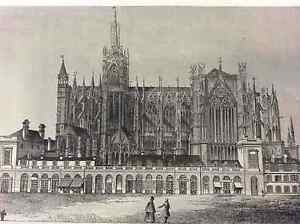 Cathedral-of-Metz-First-half-Xixth-Moselle-France