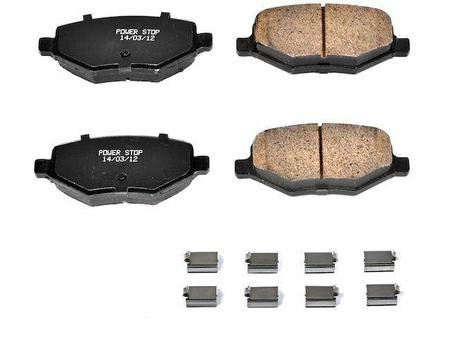 For 2007-2017 Lexus LS460 Disc Brake Pad and Hardware Kit Power Stop 14158KV