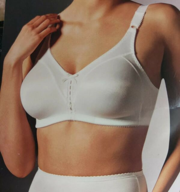 61fc017cc72fa Bali Bra - New - 36B Black Style  3820 Softcup Full Double Support Wire Free