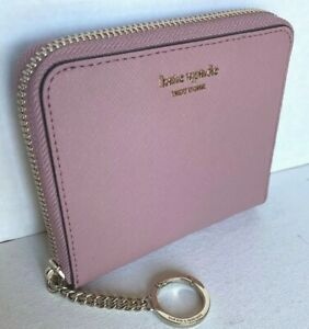 New-Kate-Spade-New-York-Cameron-small-slim-Continental-wallet-Peony