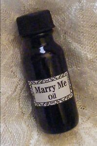 Details about MARRY ME OIL ~ Marriage Proposal, Love, Soul Mate, Hoodoo