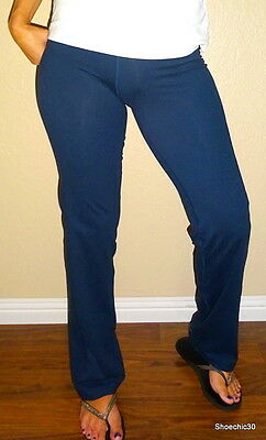 Champion Navy Blue women's compression sexy  fitness yoga pants   gym   XS