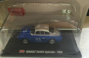 DIE-CAST-1000-MIGLIA-034-RENAULT-REDELE-SPECIALE-1955-034-BOX-2-SCALA-1-43