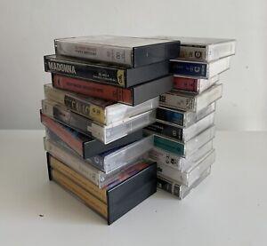 Cassette Tapes Bundle Job lot Classic 1980's Pop Rock Bundle Job Lot X 20