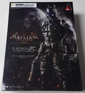 Square-Enix-Play-Arts-Kai-No-3-Batman-The-Arkham-Knight-Action-Figure-MISB-New