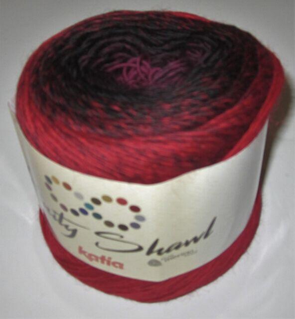 Katia Infinity Shawl Merino Wool Knitting Yarn Plus 2 Patterns 305