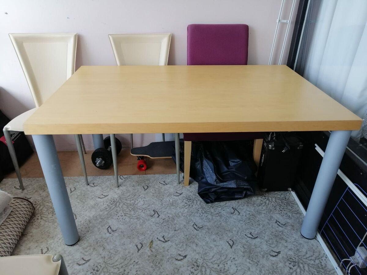 Picture of: Bordstolesaet Sebra Dba Dk Kob Og Salg Af Nyt Og Brugt